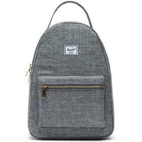 Herschel Nova Small Backpack raven crosshatch